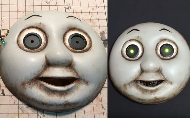 thomas the tank engine face template - thomas train character without faces pictures to pin on