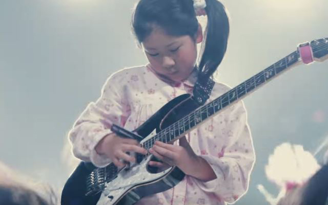 11-Year-Old Guitar Japanese Prodigy Uses Debit Card As A Pick In