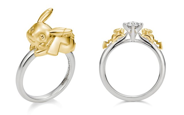 Catch The Pokemon Wedding Ring To Propose To Your Dearest Grape Japan