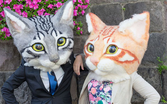Giant Wearable Cat Head For Sale