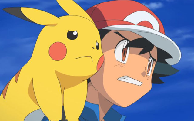 ash ketchum is the biggest freaking loser in the history of anime