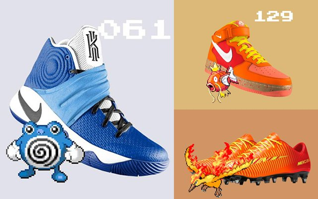 release date 1f220 286cd Designers Dream Up Pokemon NIKE Sneakers To Start Your ...