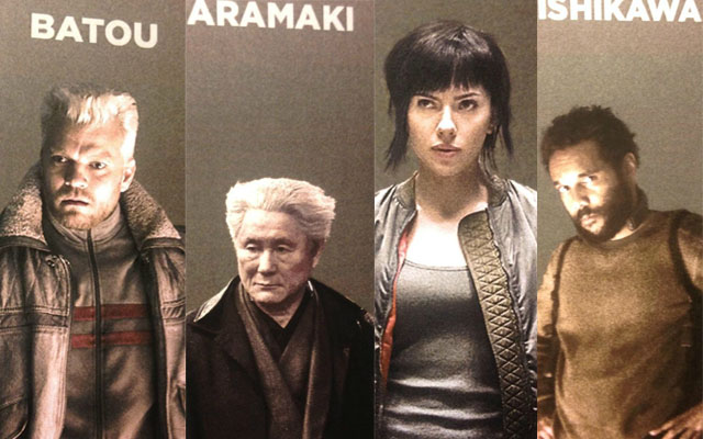 It Seems Like Ghost In The Shell Cast Photos Have Been Leaked Grape Japan
