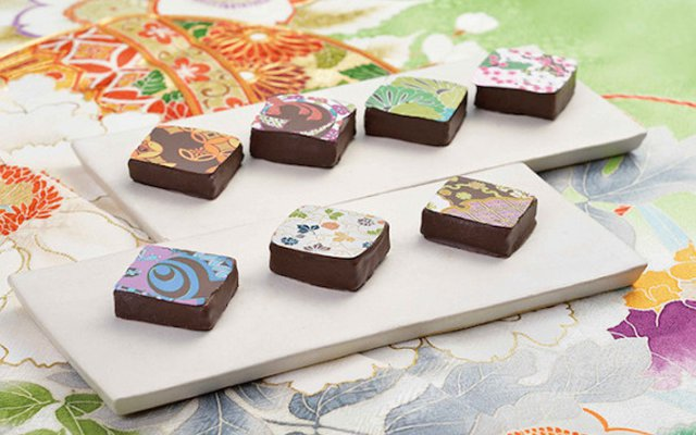 Gorgeous Chocolate With Beautiful Kimono Style Designs From Kyoto