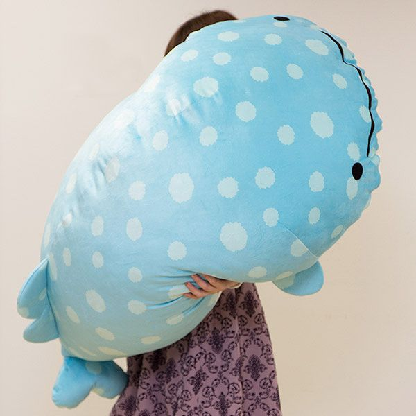 We All Need This Giant Kawaii Whale Shark Plushie In Our Lives