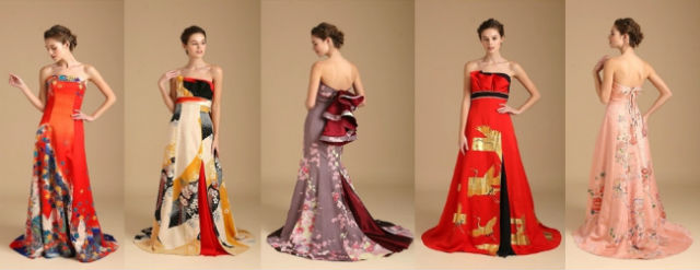 Japanese Wedding Company Is Renting Out Stunning Dresses Made From