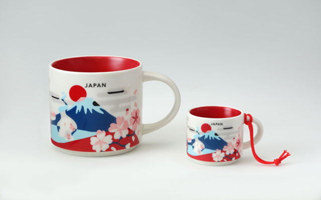 d53f5fc4a1e Starbucks Mt. Fuji You Are Here Mugs Give A Picturesque Tour Of Japan