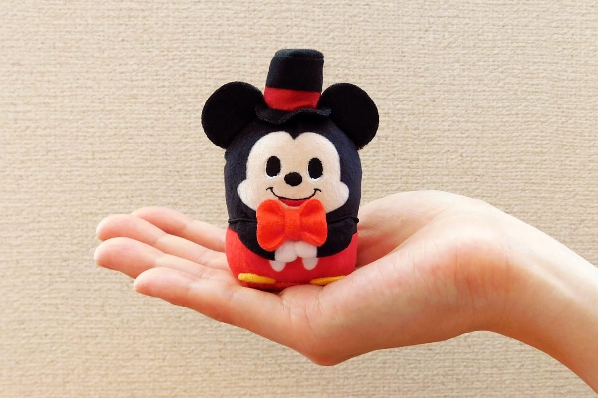 New Disney character plushies fit right in the palm of ...