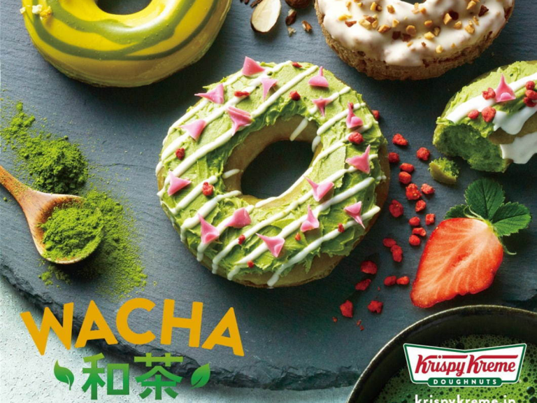 Krispy Kreme Reveal Range of Tea Doughnuts Inspired by Japanese Tea