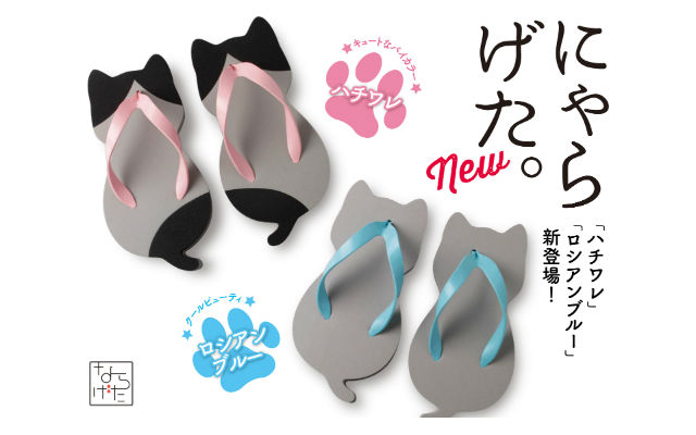 Geta And New Lovers Their Cat Will Japanese Have Shaped Sandals W2YE9IDH