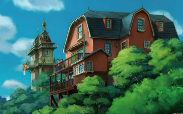 first official concept art revealed for the 2022 studio ghibli themefirst official concept art revealed for the 2022 studio ghibli theme park