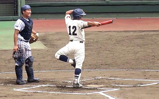 高校野球、滑川総合の代打選手が「すごい面白い」と話題