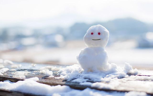 わ~い雪だ~!」九州・沖縄の人...