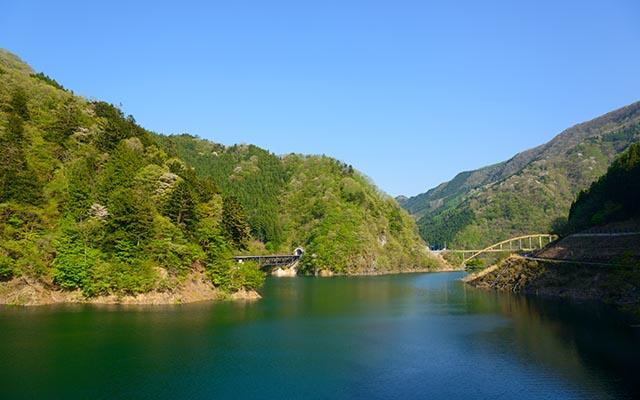 Takizawa Dam in Chichibu, Saitama, Japan
