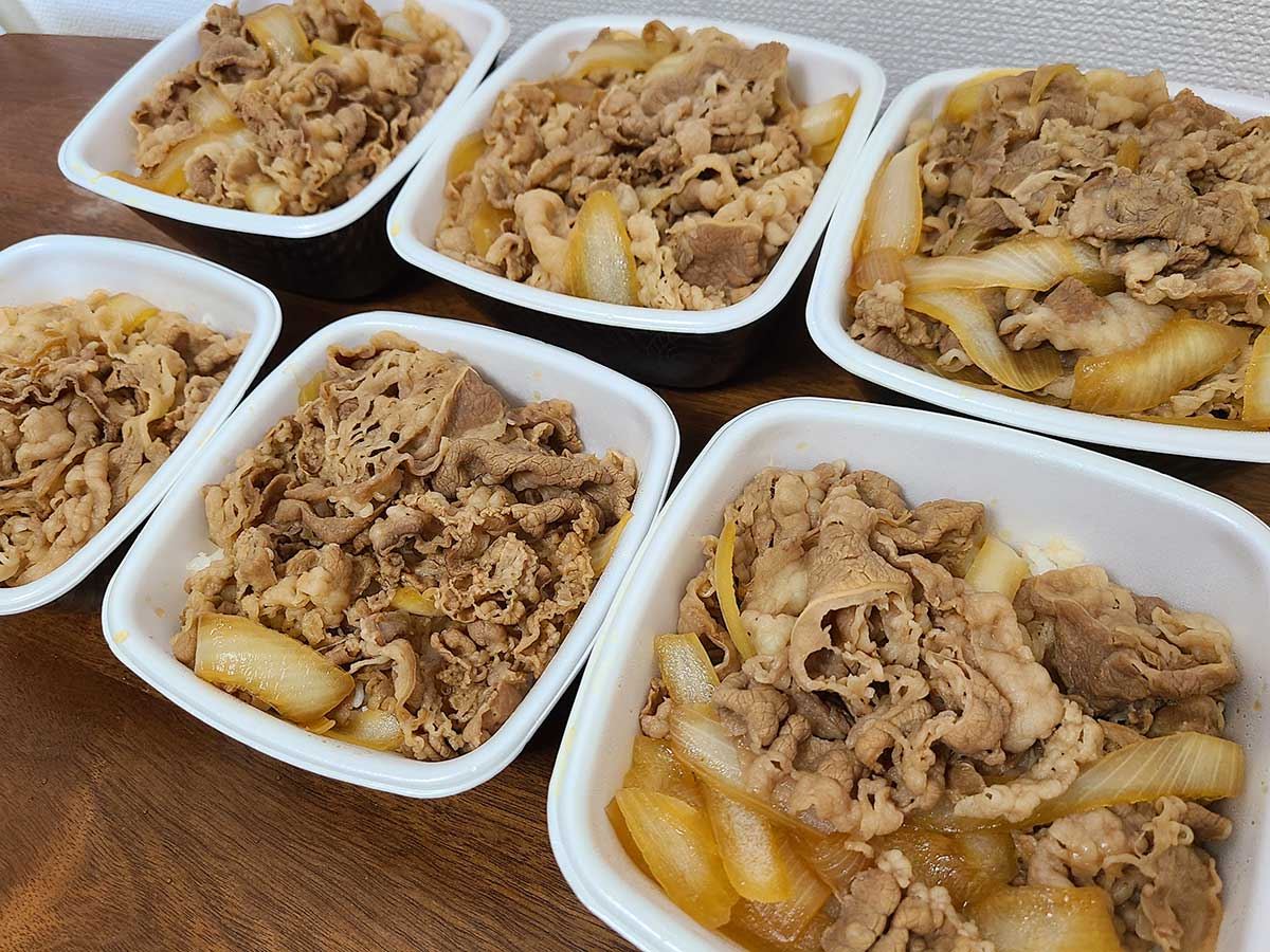 吉野家のサイズで最大の超特盛はコスパがいい? アタマの大盛は肉が多い?