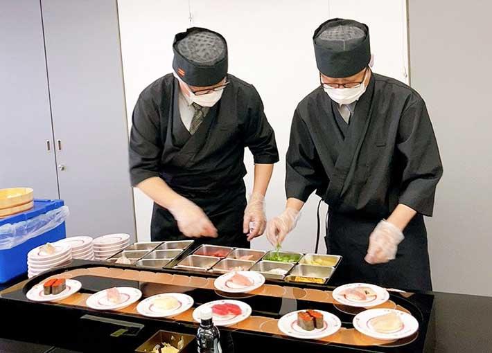 かっぱ寿司 出張回転寿司サービス