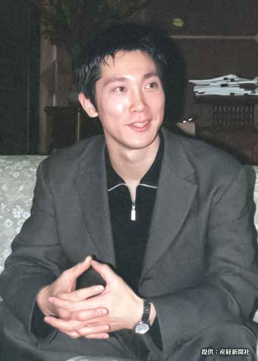 佐々木蔵之介の若い頃 1998年