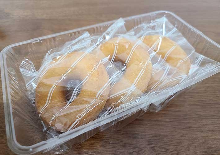 ふんわり食感のドーナツ