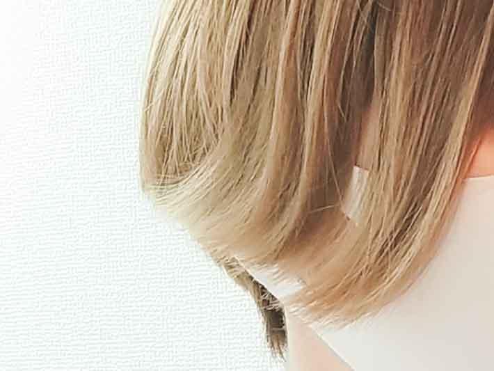 キャンドゥのヘアアイロンで髪をセット前