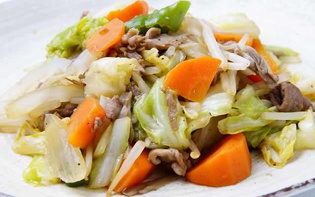 野菜 炒め 水っぽい