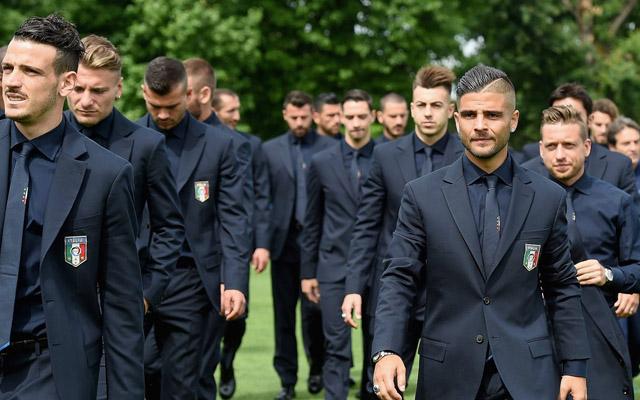 サッカーイタリア代表 スーツ姿がしびれるほどイケメンすぎて女性騒然【6枚】