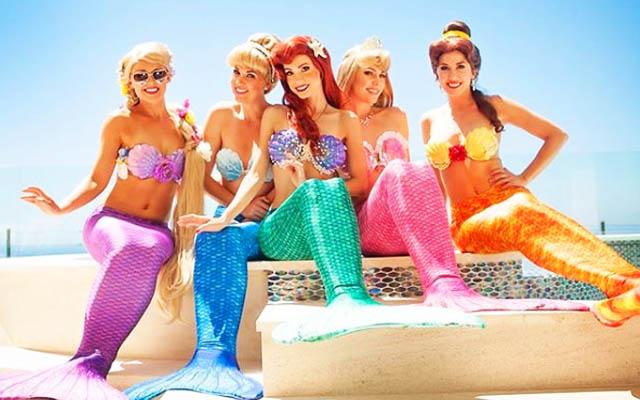 ディズニープリンセスが現実世界にインスタで再現する美女たちが素敵