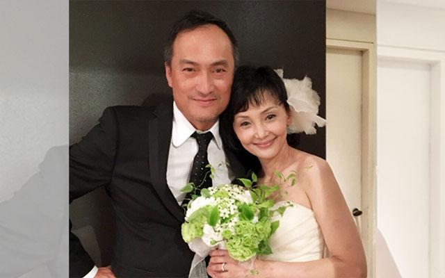「渡辺謙 結婚」の画像検索結果