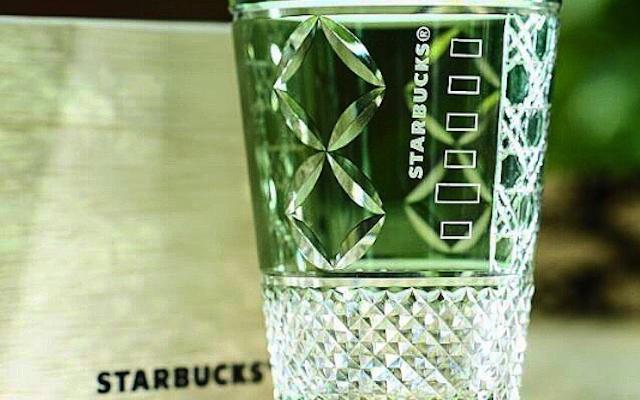 スタバ 江戸 切子 スタバ×江戸切子のコラボ商品!墨田区限定高級グラスがすごい