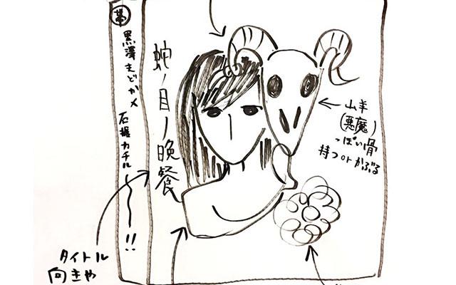 残念なラフ画を絵描きさんに渡してみたら スゴイ力作になって返ってきた
