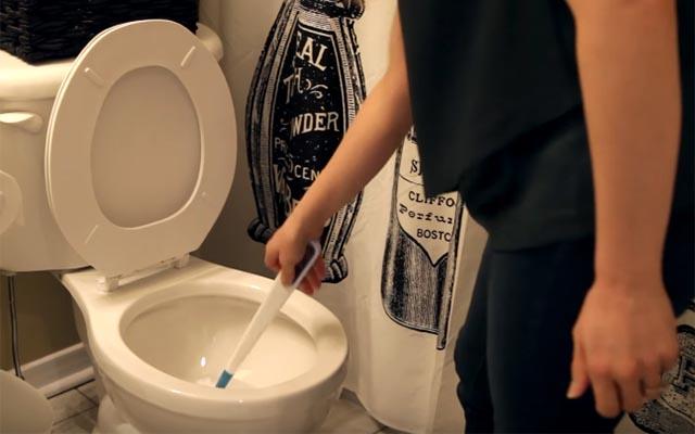画像 「使って濡れたトイレブラシ、どうしよ」 そんな人は、こうしたら?
