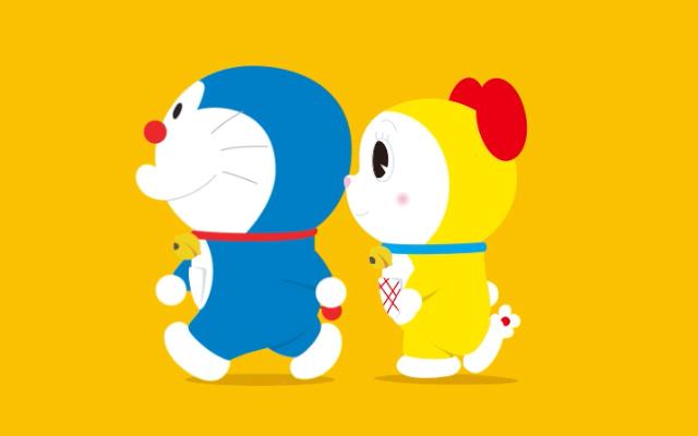 「通勤中の癒しだわ」東京の地下鉄を見守るドラミちゃん動画が可愛い!