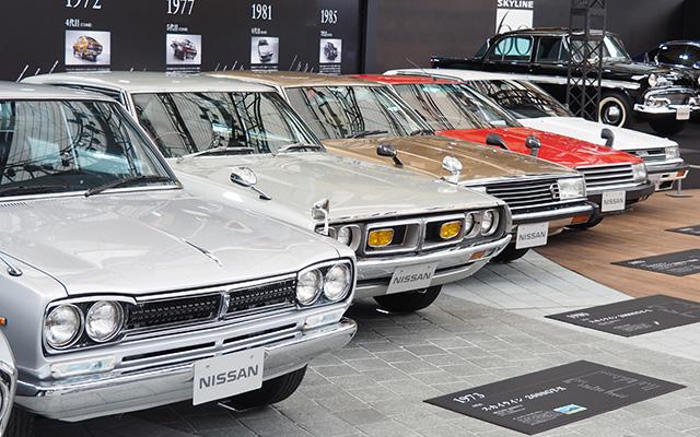 浅野忠信が語るスカイライン 昭和デザインのレトロ車など歴代モデルが集結