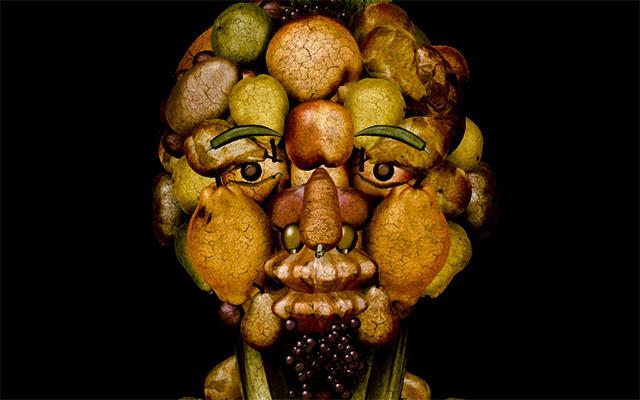 この顔誰かわかる?野菜で作る肖像画になった芸能人