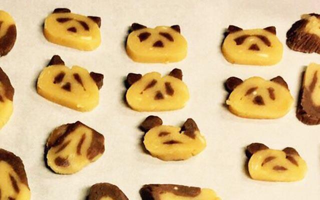 友人「可愛いパンダクッキー作ろっ!」 結果、『阿鼻叫喚クッキー』が爆誕
