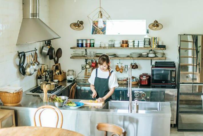 和田 明日香 キッチン