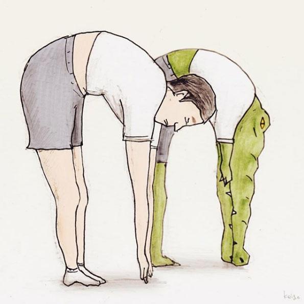 ジワる18枚 1枚で完結するワニの漫画に腹筋崩壊 Grape グレイプ