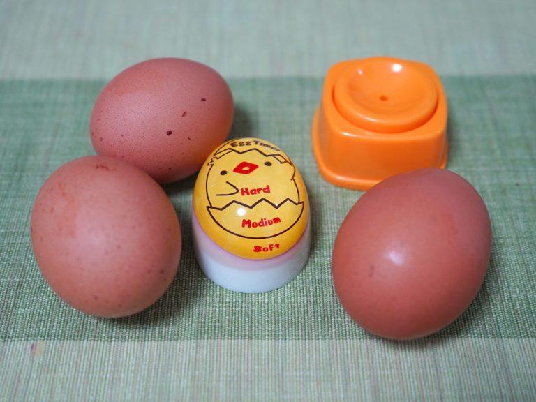 ゆで卵 穴あけ器 失敗