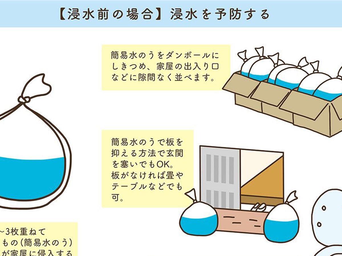 逆流 台風 トイレ