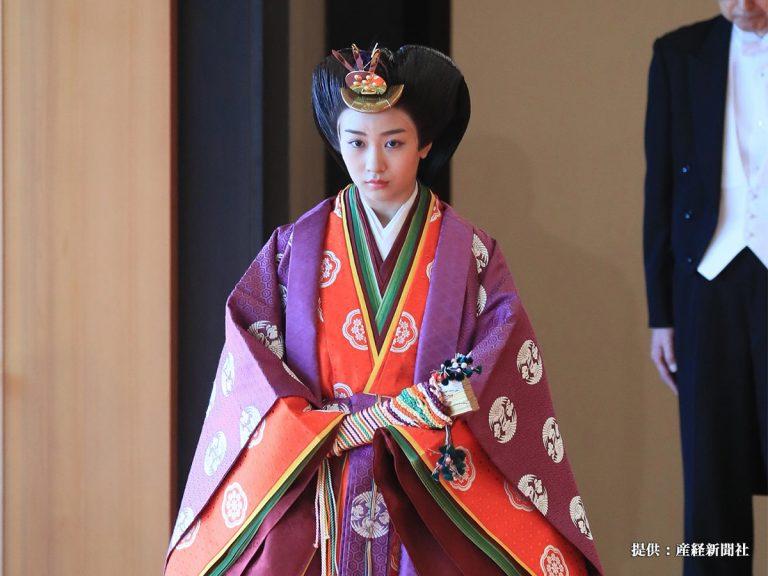 眞子さま・佳子さまの『十二単姿』が、話題 「美しすぎる