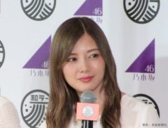 白石麻衣 尊敬する先輩からのサプライズで涙!乃木坂卒業後は女優業に専念
