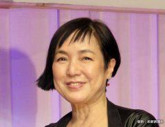 桃井かおりが夫との結婚記念日を報告 ドアップのツーショットに「やっぱり美男美女」
