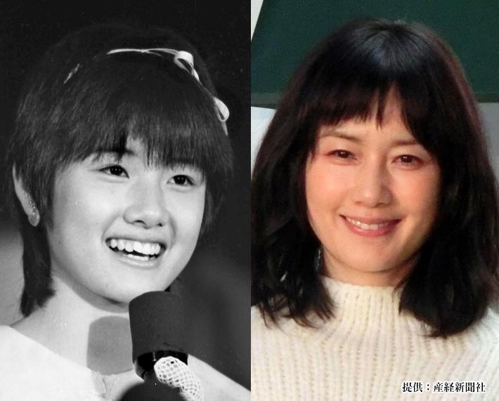原田知世の若い頃と現在の比較