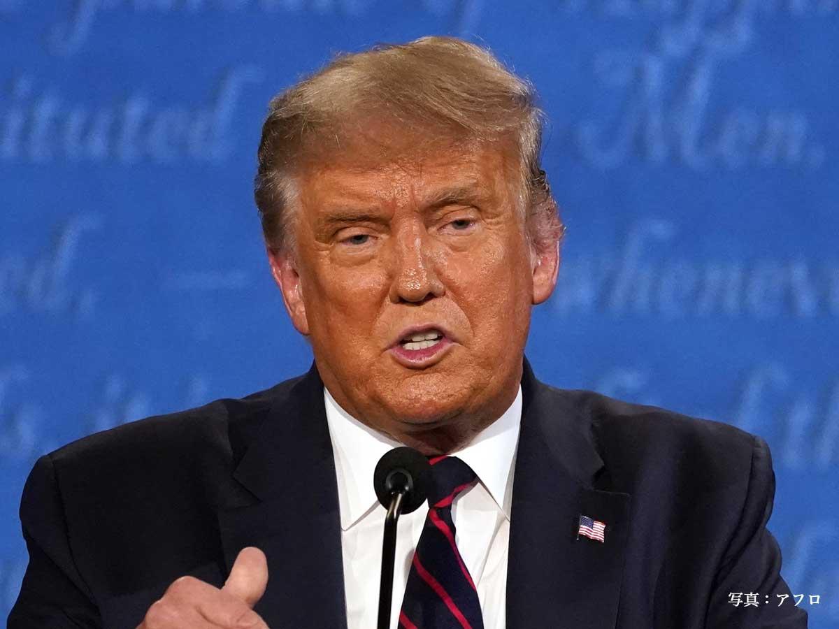 grape [グレイプ]societyトランプ大統領がコロナ感染 本人がツイッターで報告