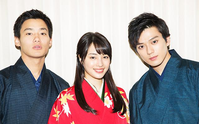広瀬すず×野村周平×新田真剣佑の3人が、特別な作品『ちはやふる