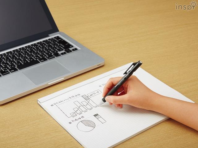 「鉛筆シャープTypeS(黒)」の使用イメージ
