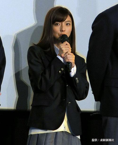 真野恵里菜『みんな!エスパーだよ!』公開記念舞台挨拶 2015年