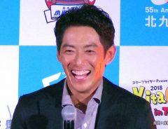 『KitaQフェス in TOKYO 2018』に参加しテレビ朝日系ドラマ『相棒season17』をPRした反町隆史さん 2018年