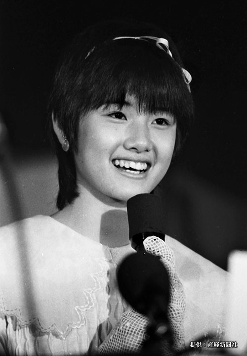 映画「時をかける少女」会見に出席した女優の原田知世 =東京・東京会館