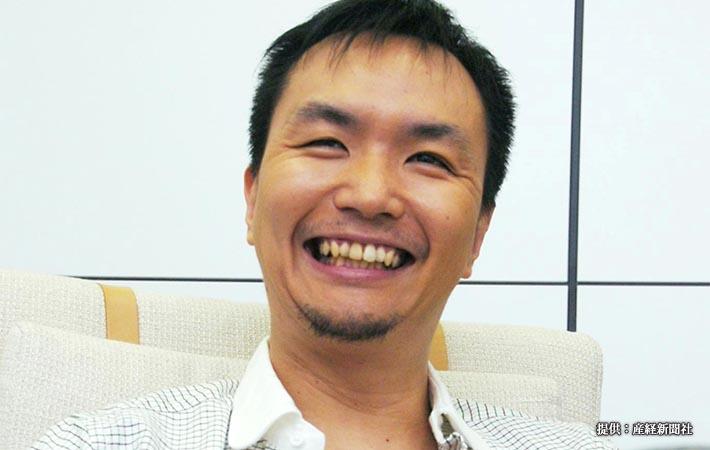 劇作家兼俳優の長塚圭史 =2008年9月22日