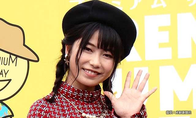 『プレミアム サマー バザール』のオープニングイベントに出席した横山由依さん 2018年